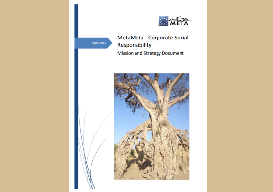 Frontpage manual: Corporate social responsibilit