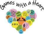 Logo: Games with a Heart