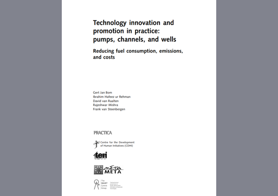 Frontpage manual: SMART Technology Innovation: Pumps and Wells