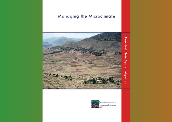 Frontpage manual: Managing the microclimate