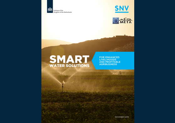 Frontpage manual: Promoting Smart Water Solutions